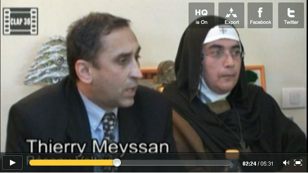 Agnès-Mariam de la Croix est en tournée de propagande en Israël: une VRP des relations publiques du régime Assad.