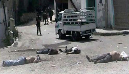 Massacre dans le village de Bayda (AP, le 2 mai 2013)