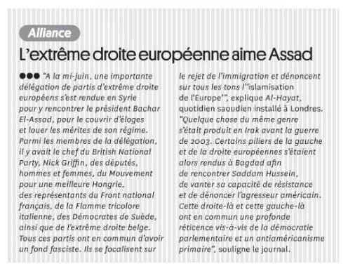 LextremeDroiteEuropeenneAimeAssad