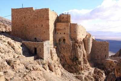 Old-fortress-monastery-mar-musa-in-syria